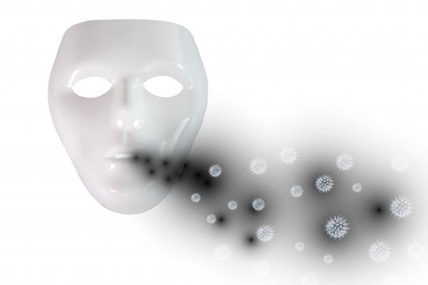 ウイルスを撒き散らす仮面