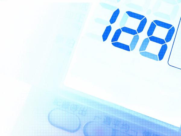 口臭測定器デジタル表示