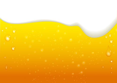 アルコール(ビール)のイラスト
