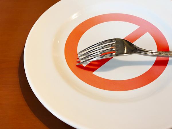 ダイエットで絶食